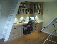 Have you got a space that would suit being kitted out as a small office space? Enquiries to: sales@taylor-furniture.co.uk Fitted Cabinets, Small Space Office, Corner Desk, Suit, Furniture, Home Decor, Corner Table, Decoration Home, Room Decor