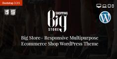 Big Store Multipurpose eCommerce WordPress Theme .