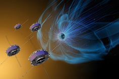 """An article published in the journal """"Science"""" describes the first direct observation of the phenomenon called magnetic reconnection. NASA's four MMS twin space probes allowed to obtain the best observations made so far of the interaction between the Earth and Sun's magnetic fields. According to the researchers who analyzed the data collected, electrons trigger this phenomenon. Read the details in the article!"""