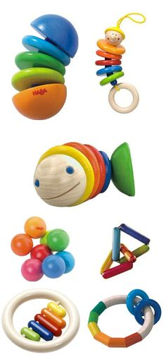 LOVE Haba toys! My 11 month old has already gotten hours play out of these adorable little chew toys