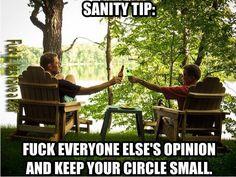 Sanity Tip