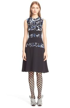 Proenza+Schouler+Print+Jersey+Dress+available+at+#Nordstrom