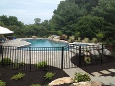 Swimming Pool Fence Regulations Around Landscaping