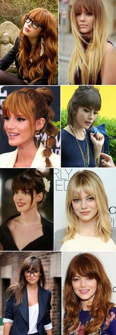 Trendy hair styles with bangs red Ideas, Hairstyles With Bangs, Trendy Hairstyles, Maroon Hair, Medium Hair Styles, Long Hair Styles, Auburn Hair, Great Hair, Hair Dos, Gorgeous Hair