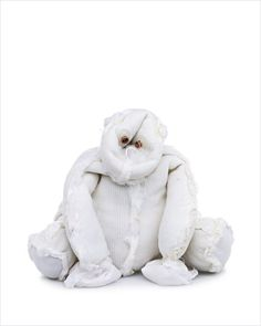A bear turned inside out by Kent Rogowski. This one looks like a white gorilla.