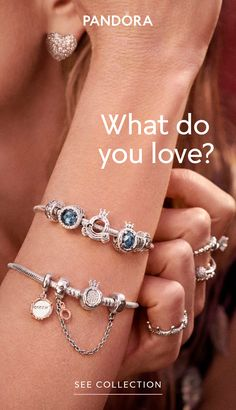 For our unique range of jewellery including hand-finished charms, bracelets, necklaces, rings and pendants. Discover the perfect piece at Pandora UK. Bracelet Pandora Charms, Pandora Leather Bracelet, Pandora Jewelry, Charm Jewelry, Gold Jewelry, Women Jewelry, Vintage Jewellery, Antique Jewelry, Jewelery