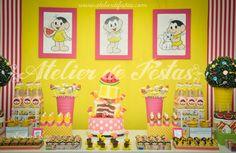 Hoje tem Festa da Magali no blog, uma decoração encantadora!!!Apaixonada por todas estas fofuras....Imagens do site Atelier de Festas.Lindas ideias e muita inspiração.Bjs, Fabíola Teles.Mais i...