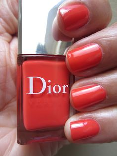 Dior Riviera. Obsessed. On my nails right now.