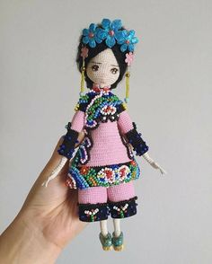 muneca oriental crochet-otakulandia.es (5)