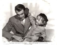 Shirley Temple and Gary Cooper