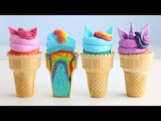 My little pony CAKE-CONES with a magical surprise inside! My Little Pony Party, Bolo My Little Pony, Cumple My Little Pony, My Little Pony Cupcakes, My Little Pony Food, Little Girl Cakes, Cake In A Cone, Cupcake Cones, Bolo Mocha