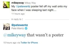 Another reason I love Pete Wentz