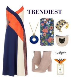 """Trendiest"" by northgoodsco on Polyvore featuring Charter Club, Diane Von Furstenberg, Kendall + Kylie, Rifle Paper Co, House of Harlow 1960 and PENHALIGON'S"