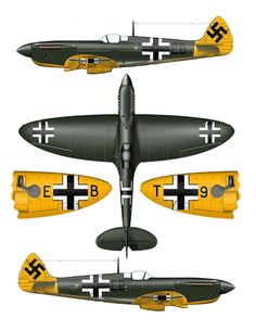Spitfire PR XI of ) capturado Germany July 1944 Ww2 Aircraft, Fighter Aircraft, Military Aircraft, Luftwaffe, Air Fighter, Fighter Jets, Aircraft Painting, Supermarine Spitfire, Ww2 Planes