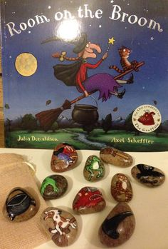 Story Stones... Room on a Broom by ImagineImagineToys on Etsy