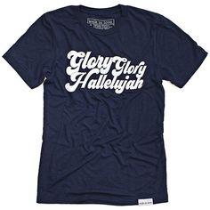 Glory Glory Navy T-Shirt