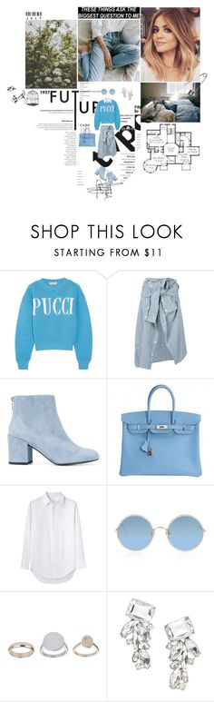 """""""These things aks the biggest question to me."""" by miky94 ❤ liked on Polyvore featuring Behance, Paul Frank, Emilio Pucci, Faith Connexion, Stuart Weitzman, Hermès, Band of Outsiders, Sunday Somewhere, Topshop and Banana Republic"""