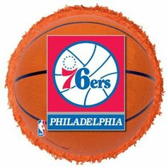 Philadelphia 76ers Basketball - Pinata Party Accessory BUYSEASONS. $8.99. Pinata measures approximately 17in in diameter and 3in deep. Pinata Party, Party Accessories, Party Games, Philadelphia, Party Supplies, Basketball, Toys, Plastic, Deep