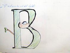 >La B es el ama de cria del alfabeto