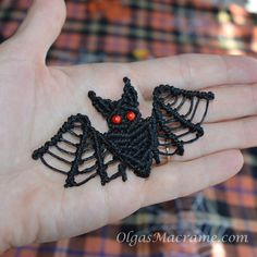 Macrame Bat Tutorial