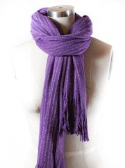 Tying Scarves around Neck | How to Tie a Scarf: Loop and Tuck Scarf Knot | Scarves.net