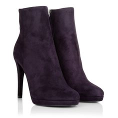 In heaven with Prada Calzature Donna Camoscio Prugna Boots! Wear it in the  office or 47ddcd22a5f