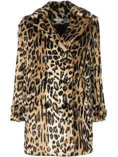ALICE+OLIVIA - leopard print coat - Tootsies Farfetch
