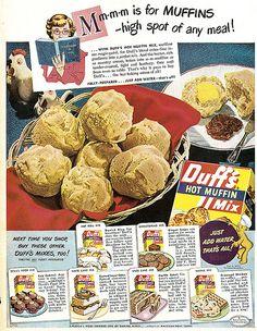 Duff's Muffins 1949