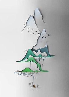 Vertical Landscape, Eiko Ojala