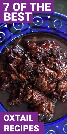 If you want new foods in your life, here are 7 oxtail recipes that you really need to try. Oxtail is a food you may have never tried before. Here are 7 oxtail recipes that you'll love. Oxtail Recipe Soul Food, Southern Oxtail Recipe, Oxtail Recipes Crockpot, Southern Recipes, Beef Recipes, Cooking Recipes, Curry Recipes, Recipies, Jamaican Dishes
