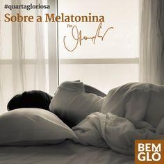 Vem saber tudo sobre Melatonina e seus efeitos no nosso organismo. Confira mais uma Quarta Gloriosa, com a participação da doutora Janaína Barboza. ;)