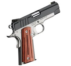 Kimber 1911 Pro Aegis II - A no-compromise pistol for shooters with small hands or who prefer light 9 mm recoil.