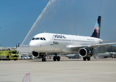 Volaris inaugural plane, July 15, 2011, by San Diego International Airport, via Flickr