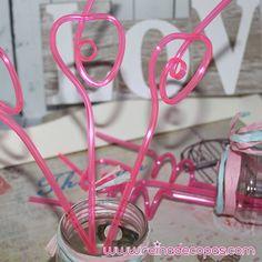 Pajitas Locas en color Rosa para tu #mesadulce #candybar o   #photocall . http://www.reinadecopas.com/es/pajitas/356-pajitas-locas-10-uds.html