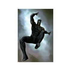 Captain America: Civil War - Black Panther Poster ($7.14) ❤ liked on Polyvore featuring home, home decor, wall art, captain america civil war poster, comic posters, comic wall art, captain america comic poster and captain america poster