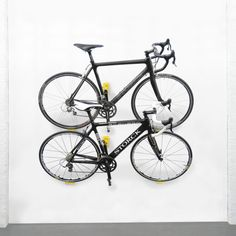 Effective Mounted On Wall Bike Racks Design Featuring Multiple Bike Featured As Simple Home Bike Storage Example Design. .