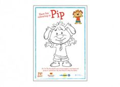 Find this Pip colouring in picture in our Pip Ahoy! activity section on iChild.