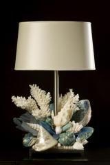 Thomas Boog seashell lamps