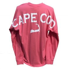 Love this Nantucket Red Cape Cod Spirit Shirt!  Roomy and comfortable, great coral color.