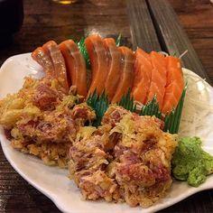 #sashimi #shake #salmon #spicytuna #kikufuji by vicmag