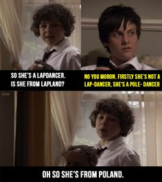 "And when his logic was pretty much flawless. 19 Times Ben From ""Outnumbered"" Gave Absolutely Zero Fucks British Sitcoms, British Memes, British Comedy, English Comedy, British Slang, Tv Funny, Funny Kids, Hilarious, Funny Stuff"