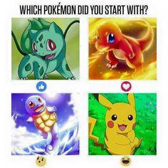 Who's your starter #WorldOfAsh #PokemonGO #Pokemon    Visit us: http://worldofash.com/