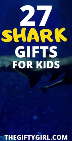 If you have a child who loves sharks, I have 27 Shark Toys and gifts that they are going to love! Take it from this mom of five (3 boys, 2 girls) who knows way more about sharks then I ever wanted to. I've curated the best shark toys and gifts, from the useful (pajamas, sheets) to the educational (books, puzzles) and the just plain fun (giant shark, shark games). Grab these shark gifts and make your little one thrilled this Christmas (or birthday!).