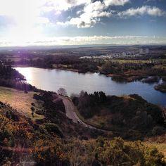 A little scenery in Edinburgh-perfect!