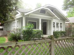 The OtHeR HoUsToN: TYPES OF BUNGALOWS