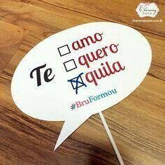 Te quiero Te amo Tequila