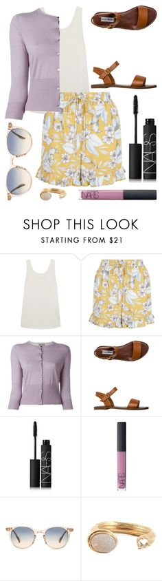 """"""""""" by kk-purpleprincess ❤ liked on Polyvore featuring Chloé, New Look, N.Peal, Steve Madden, NARS Cosmetics, Oliver Peoples and Kelly Wearstler"""
