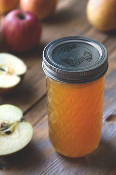 """Apple Shrub - """"The standard shrub ratio is equal parts fruit, sugar, and vinegar."""""""