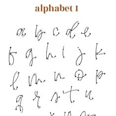 Caligraphy Alphabet Discover Where to pick up brush? Alphabet Cursif, Caligraphy Alphabet, Handwriting Alphabet, Hand Lettering Alphabet, Brush Lettering, Lettering Design, Capital Letters Calligraphy, Cool Fonts Alphabet, Number Calligraphy