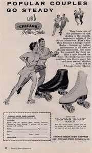 Image Search Results for vintage roller skating ads